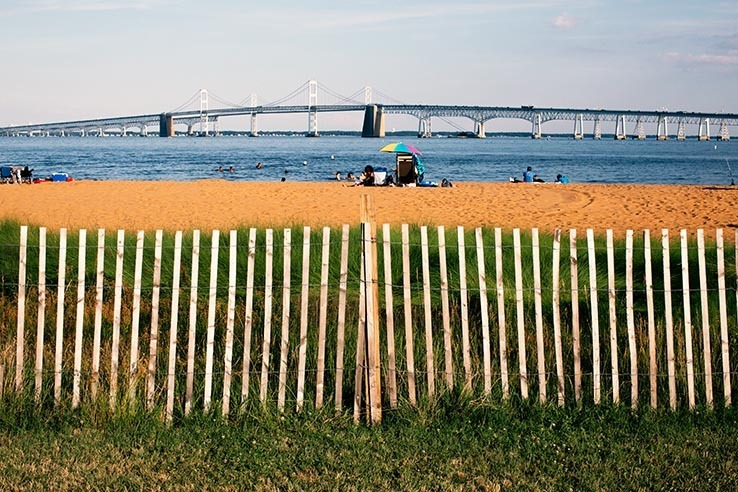 Picture of Three Chesapeake beaches reflect the history of desegregation in the United States