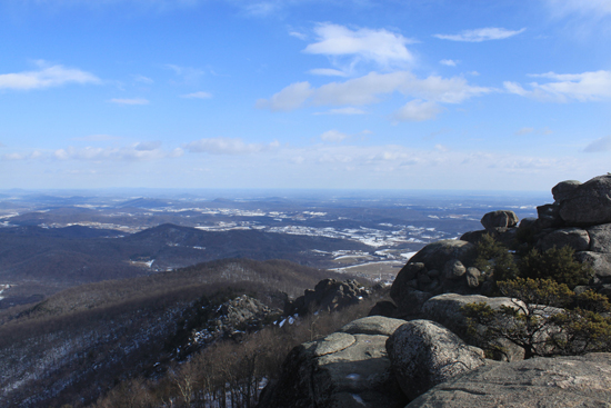 view from Shenandoah Park