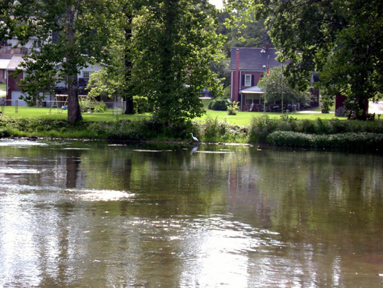 homes on Conodoguinet Creek