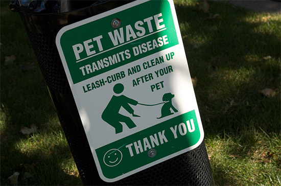... neighborhoods reduce pet waste and prioritize infrastructure repairs