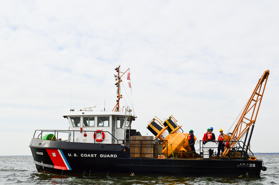 Final Chesapeake Bay interpretive buoy back on the water for