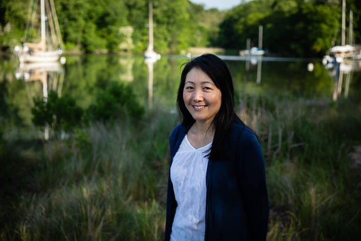 Picture of An environmental leader realizes the power of her own backyard