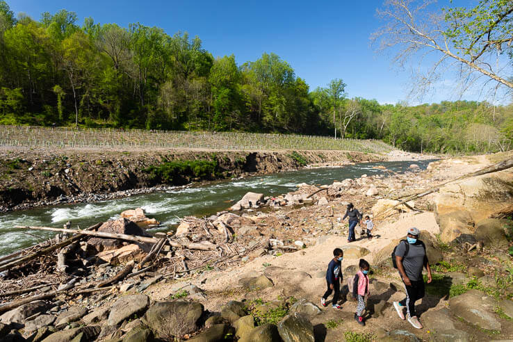 Picture of With fewer dams, a river near Baltimore flows more freely