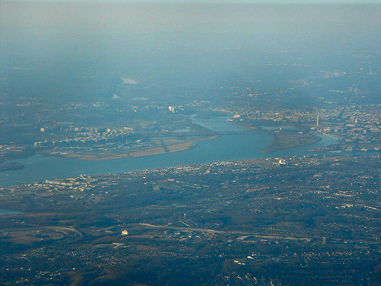 Potomac River from above (image courtesy Michael Renner/Flickr)