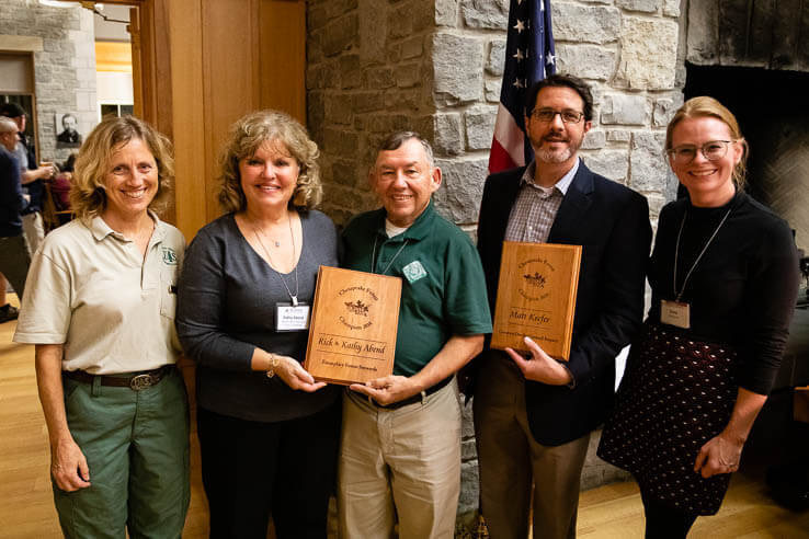 Picture of Three champions honored for forest conservation efforts