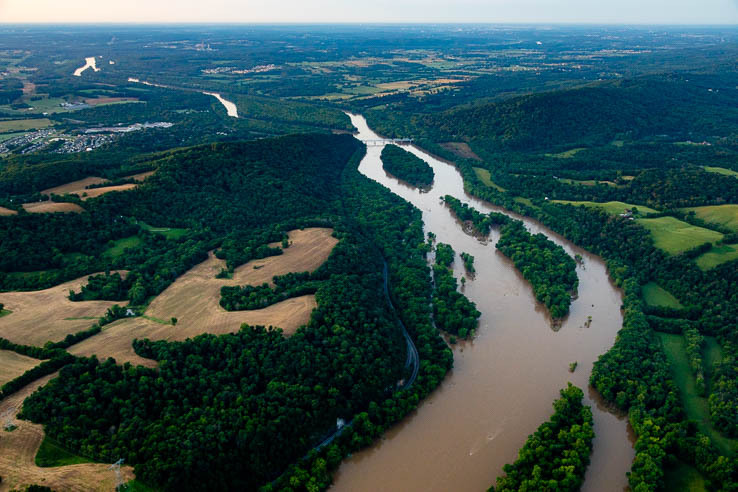 Picture of The health of the Potomac River plateaus after decades of progress