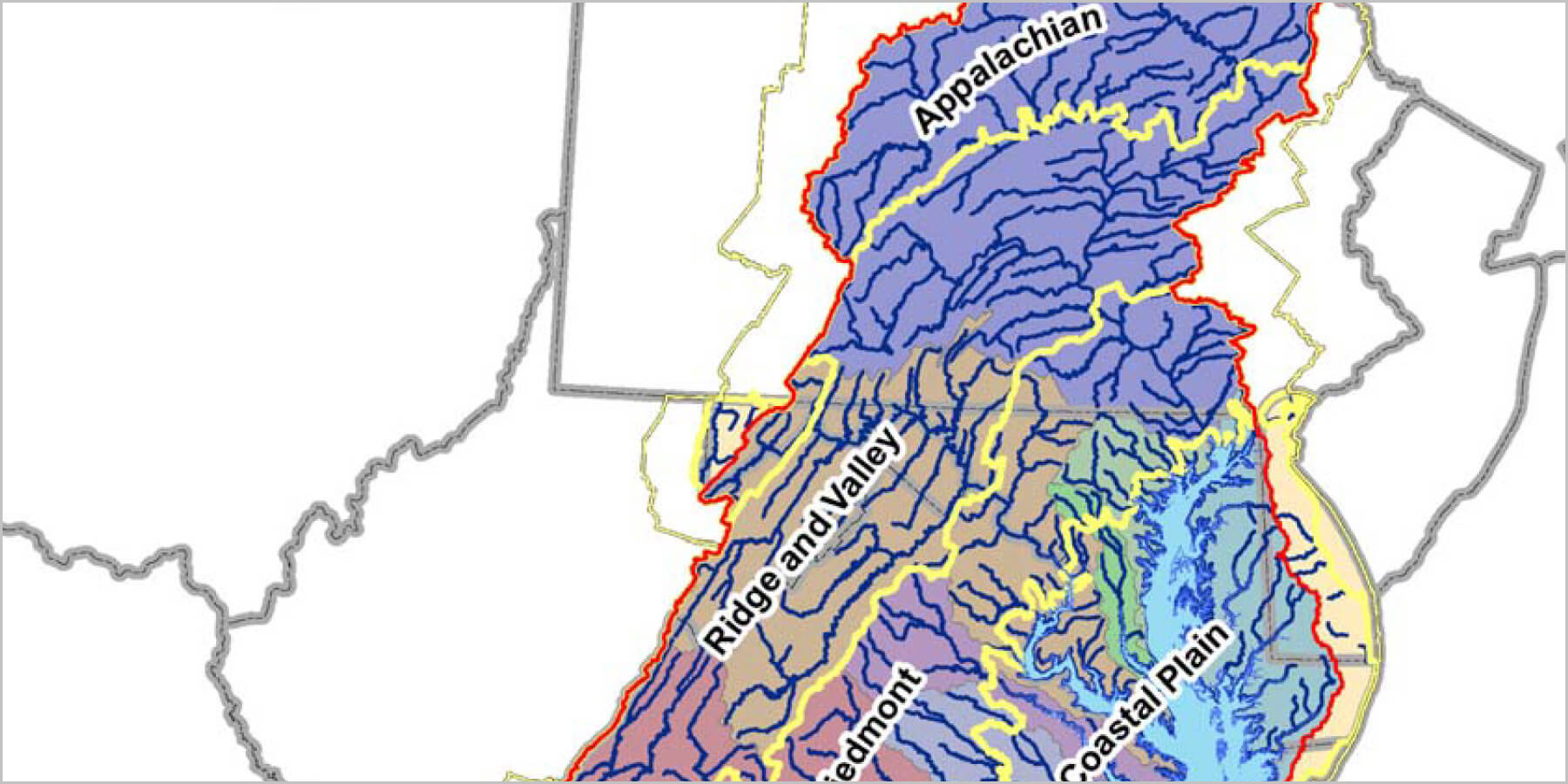 Picture of a GIS map