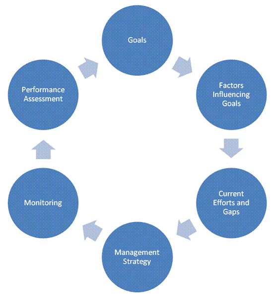 Adaptive management decision support framework