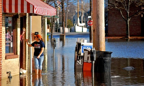As sea levels rise and weather events become more extreme, coastal flooding and erosion will increase across the Chesapeake Bay.
