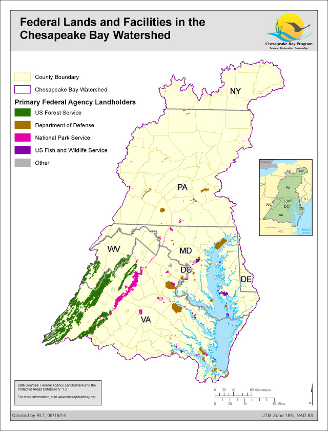 Maps Chesapeake Bay Program