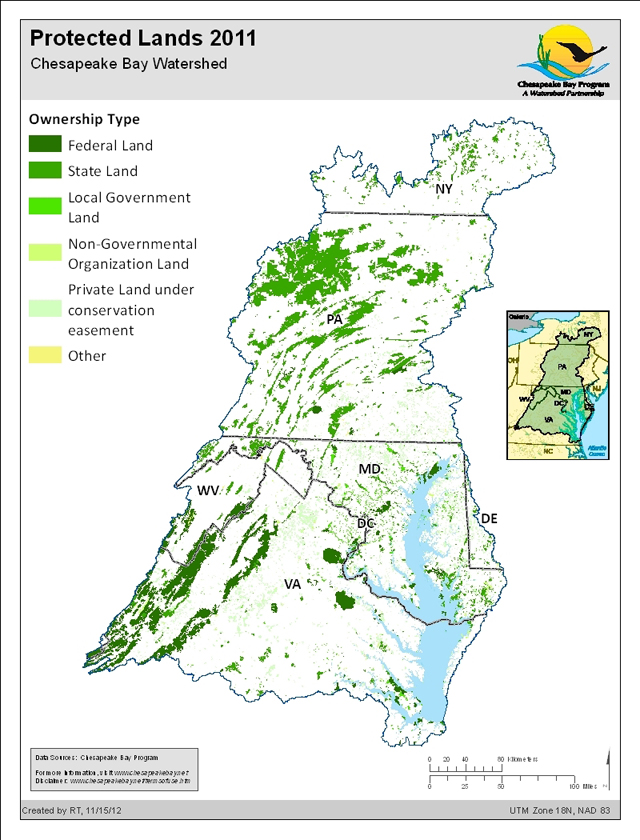 Protected Lands 2011