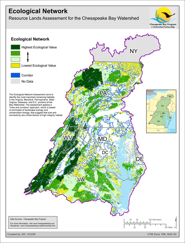 Ecological Network - Resource Lands Assessment