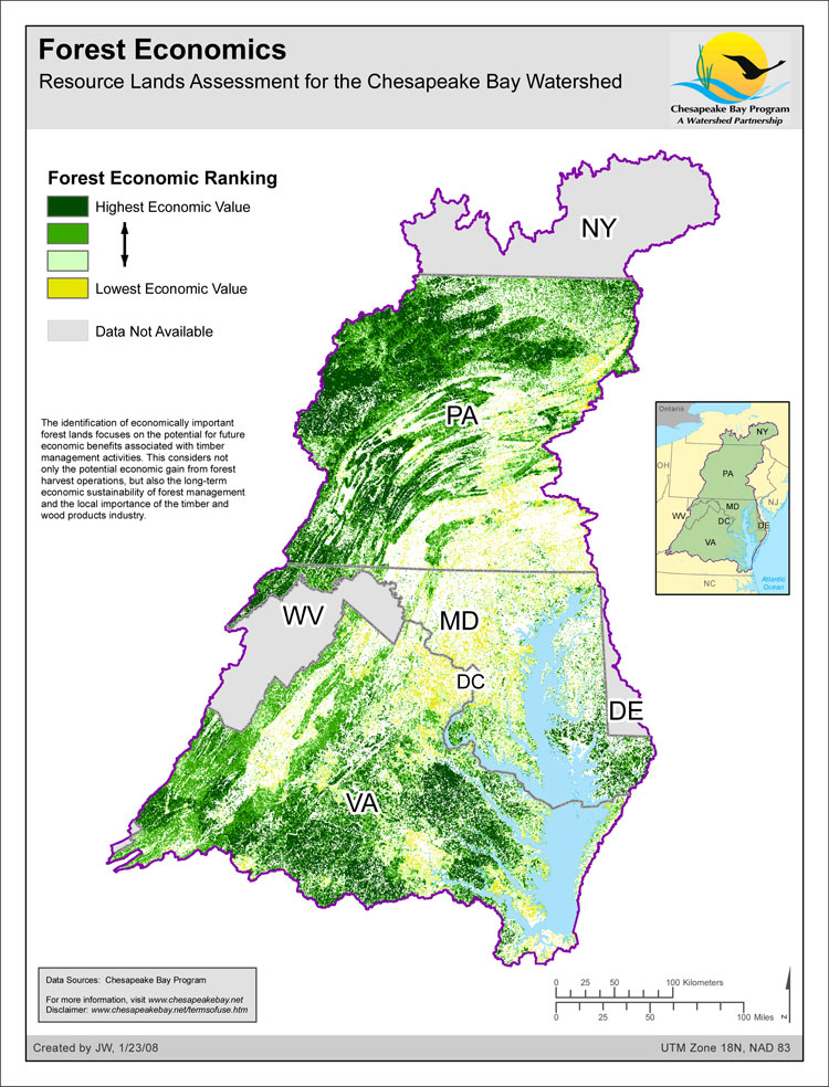 Forest Economics - Resource Lands Assessment