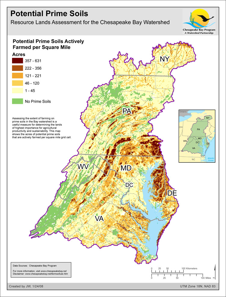 Prime Farmland - Resource Lands Assessment