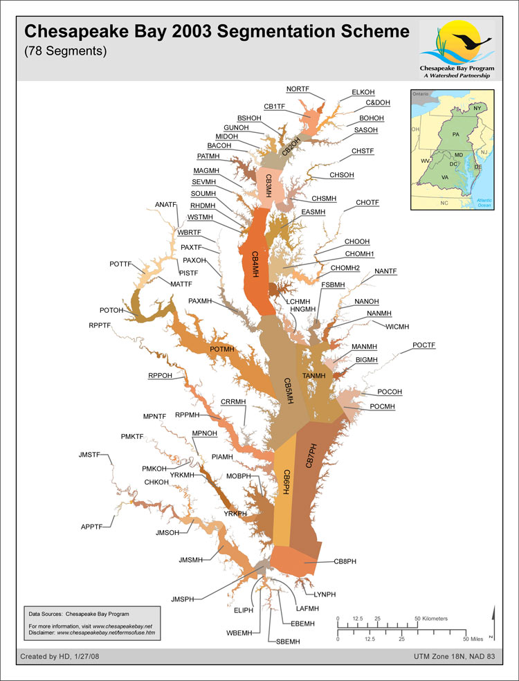 Maps | Chesapeake Bay Program