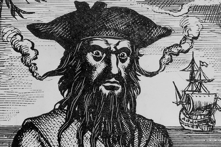 Picture of Blackbeard the Pirate