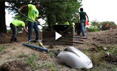 From the Field: Building rain gardens with youth in Howard County, Md.