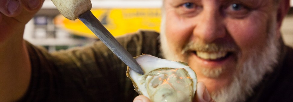 George Hastings: World champion oyster shucker