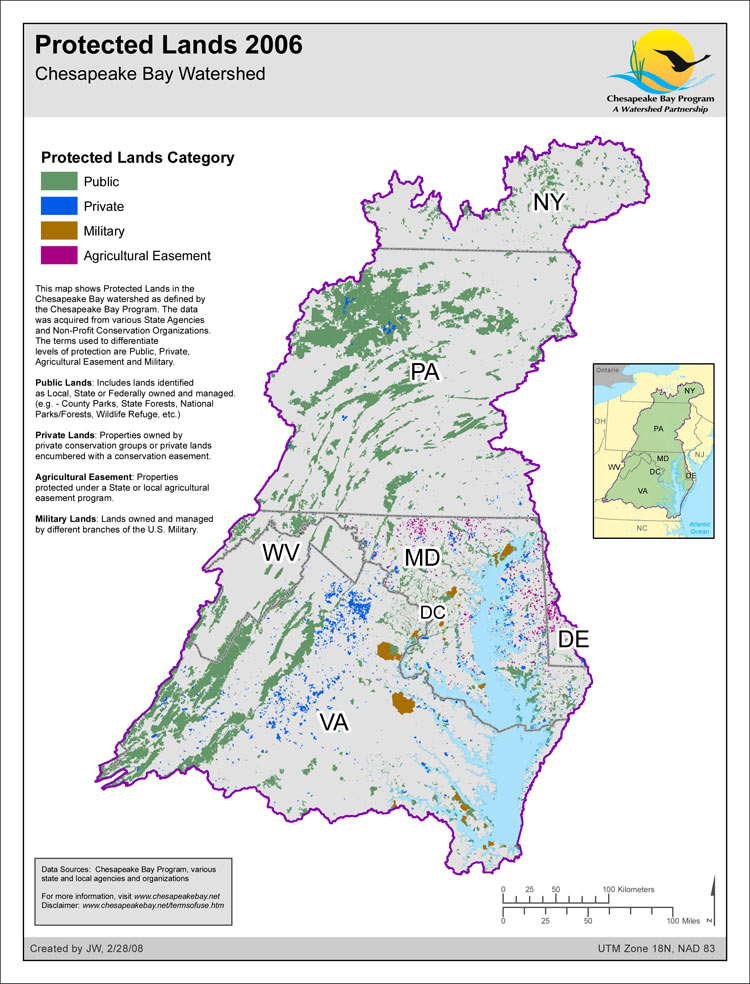 Protected Lands 2006