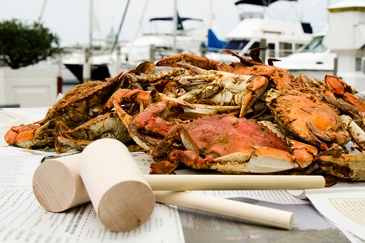 Before you begin, cover your table with old newspapers. Blue crabs can ...